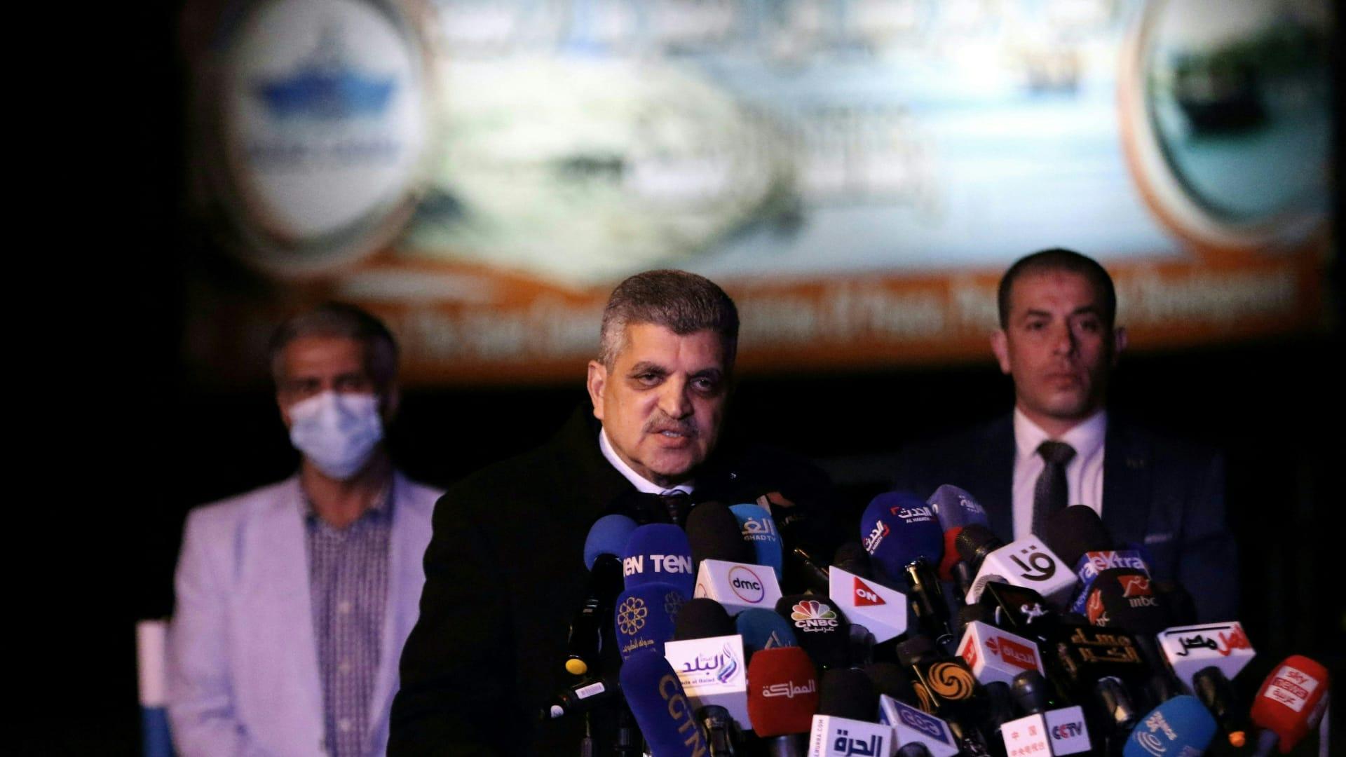 رئيس قناة السويس لـCNN بالعربية: ندرس توسيع الممر الملاحي بعد جنوح سفينة ايفر غيفن
