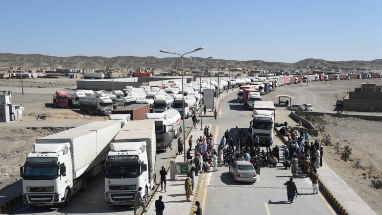 انفجار كبير على الحدود بين إيران وأفغانستان.. وتعطيل الحركة بين البلدين