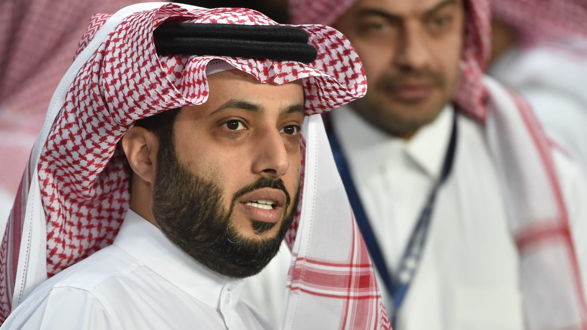"""فريق سعودي بعد متابعة تركي آل الشيخ له على تويتر: """"تكفى بدون تكسير شاشات"""""""