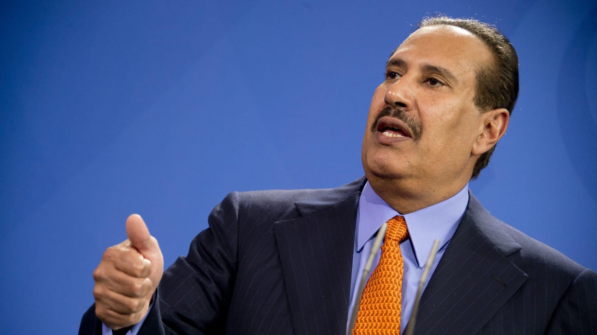 الشيخ حمد بن جاسم رئيس وزراء قطر الأسبق