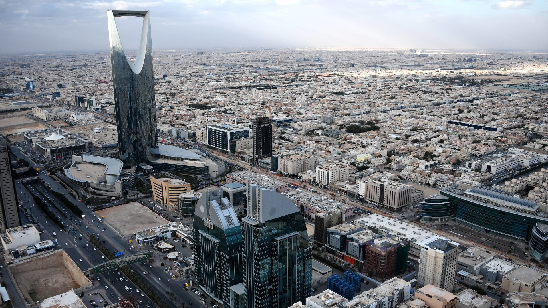 صورة ارشيفية عامة من العاصمة السعودية، الرياض