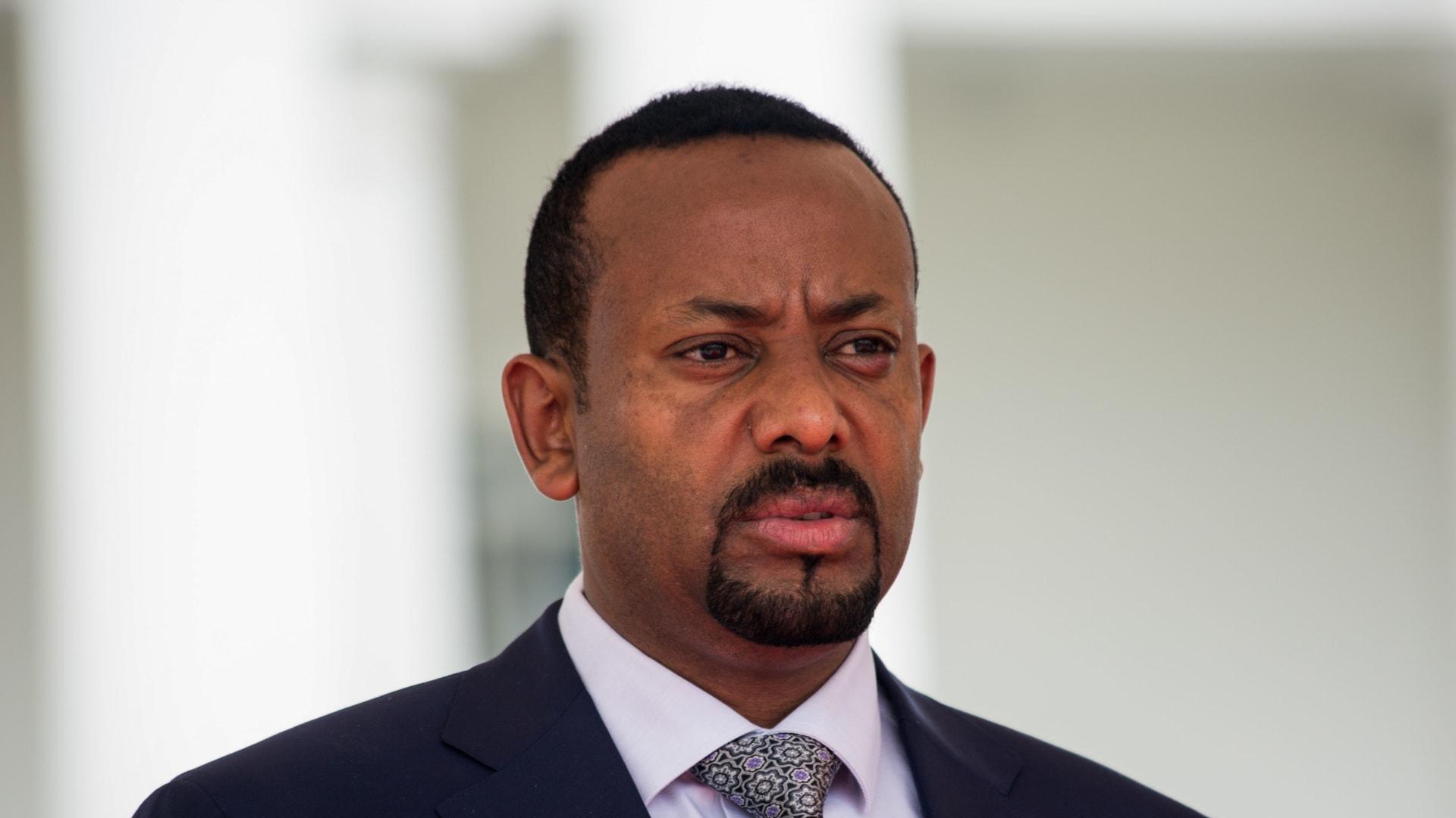 رئيس الوزراء الإثيوبي، أبي أحمد