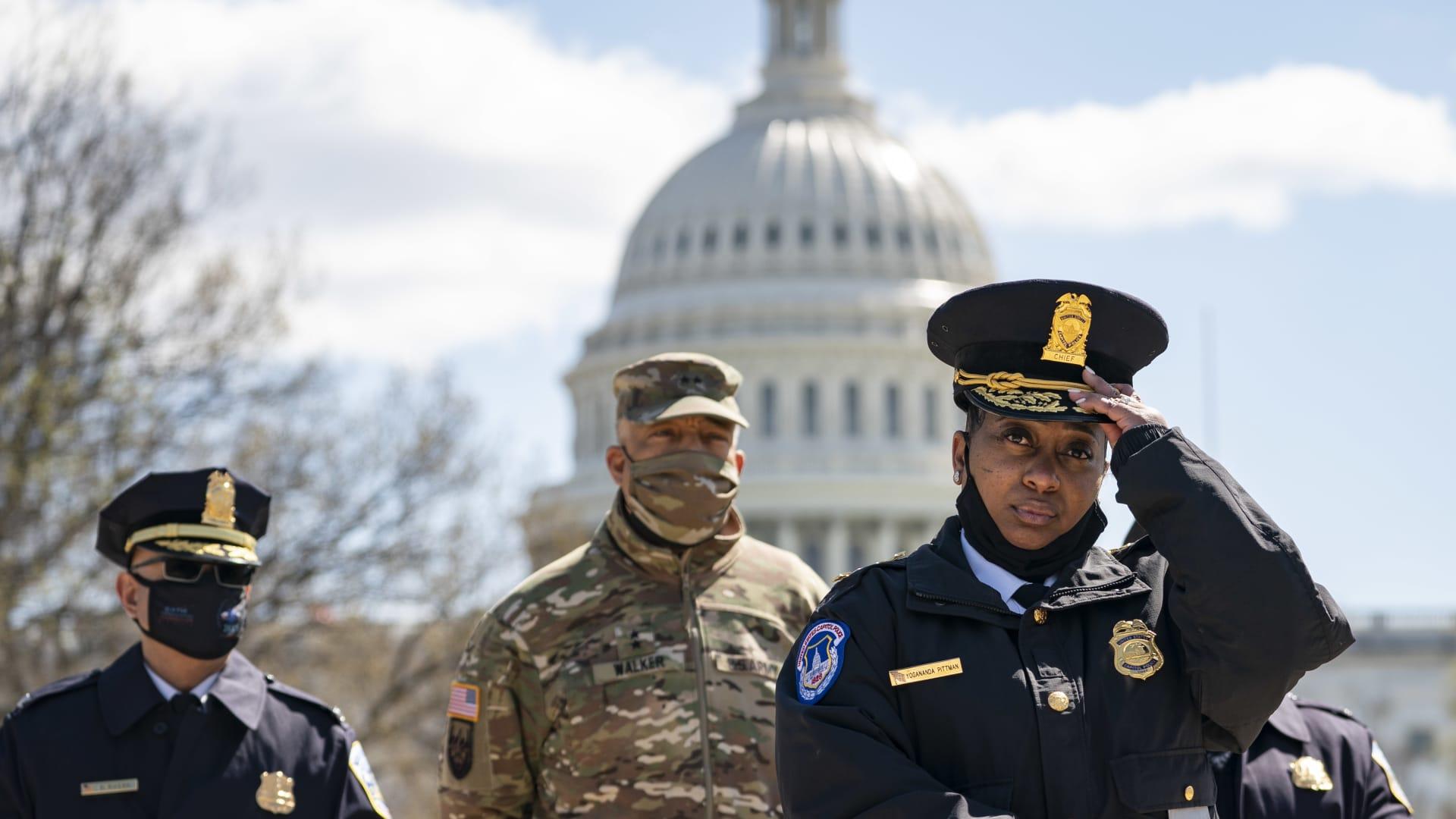 """قائدة شرطة الكونغرس تروي تفاصيل الهجوم.. """"ولا يبدو أنه مرتبط بالإرهاب"""""""