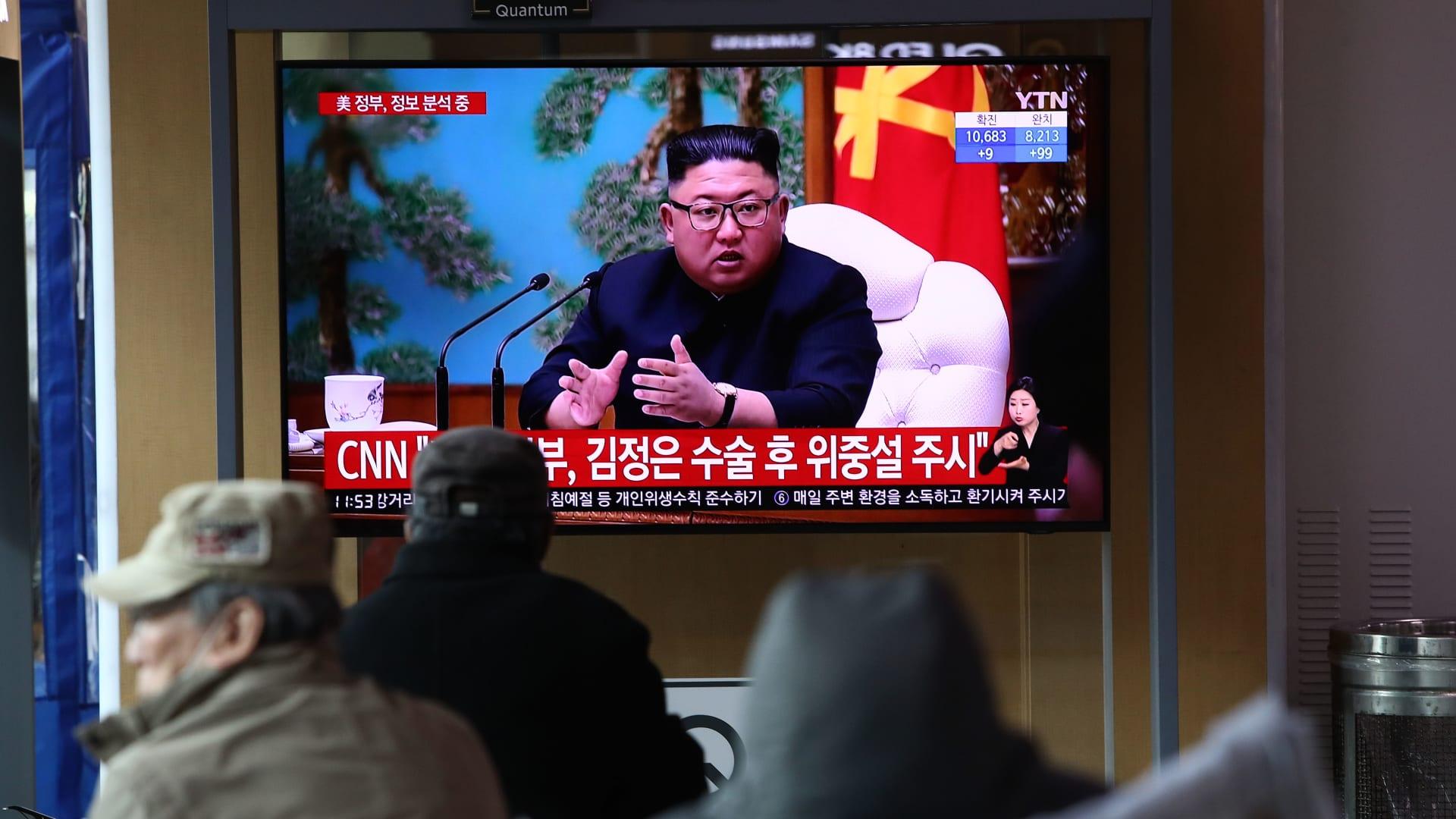 الزعيم الكوري الشمالي كين جونغ أون