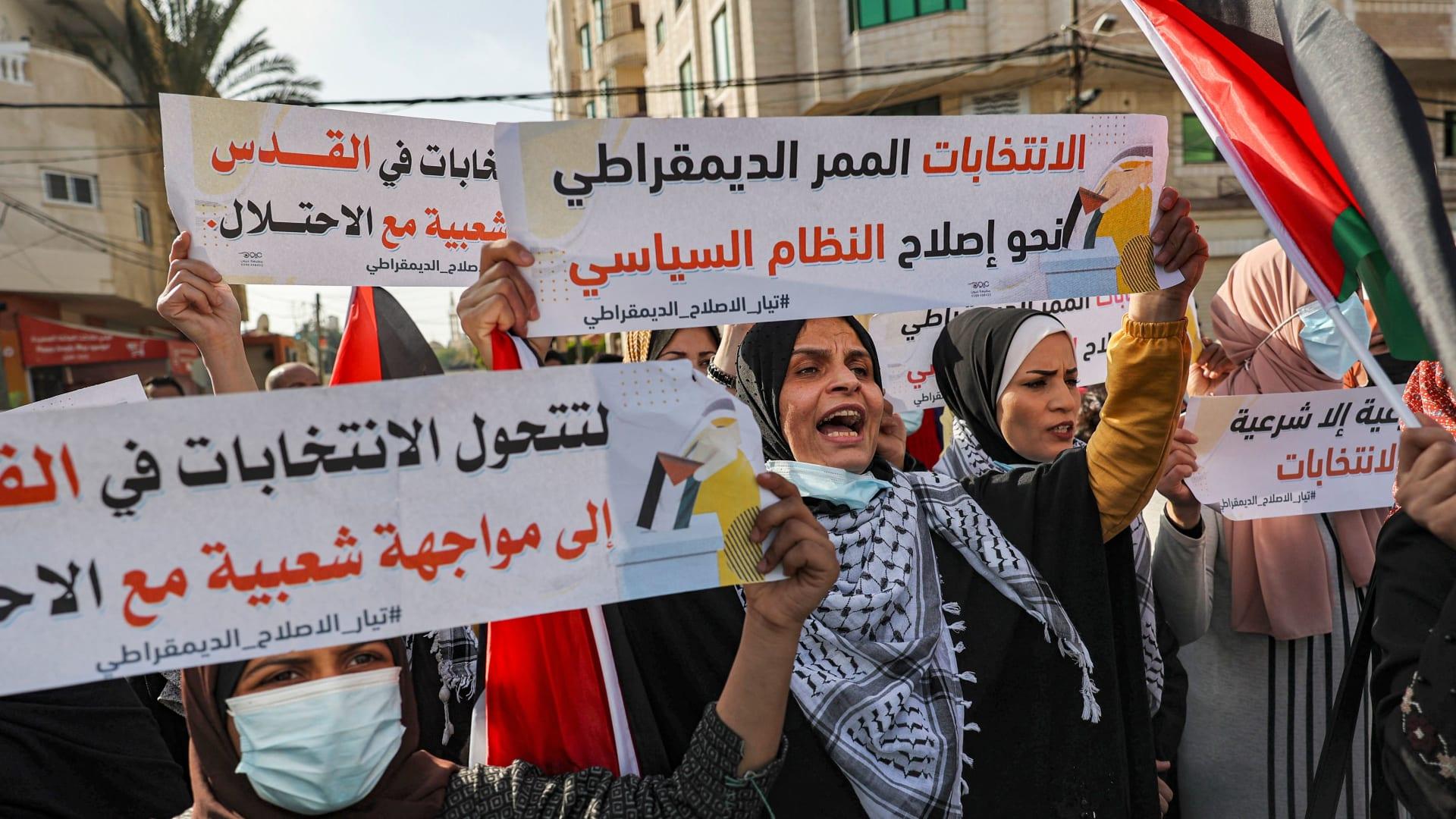 """دول أوروبية: ندعو لإجراء الانتخابات الفلسطينية """"في أقرب وقت ممكن"""".. وهنية يعلن موقفه"""