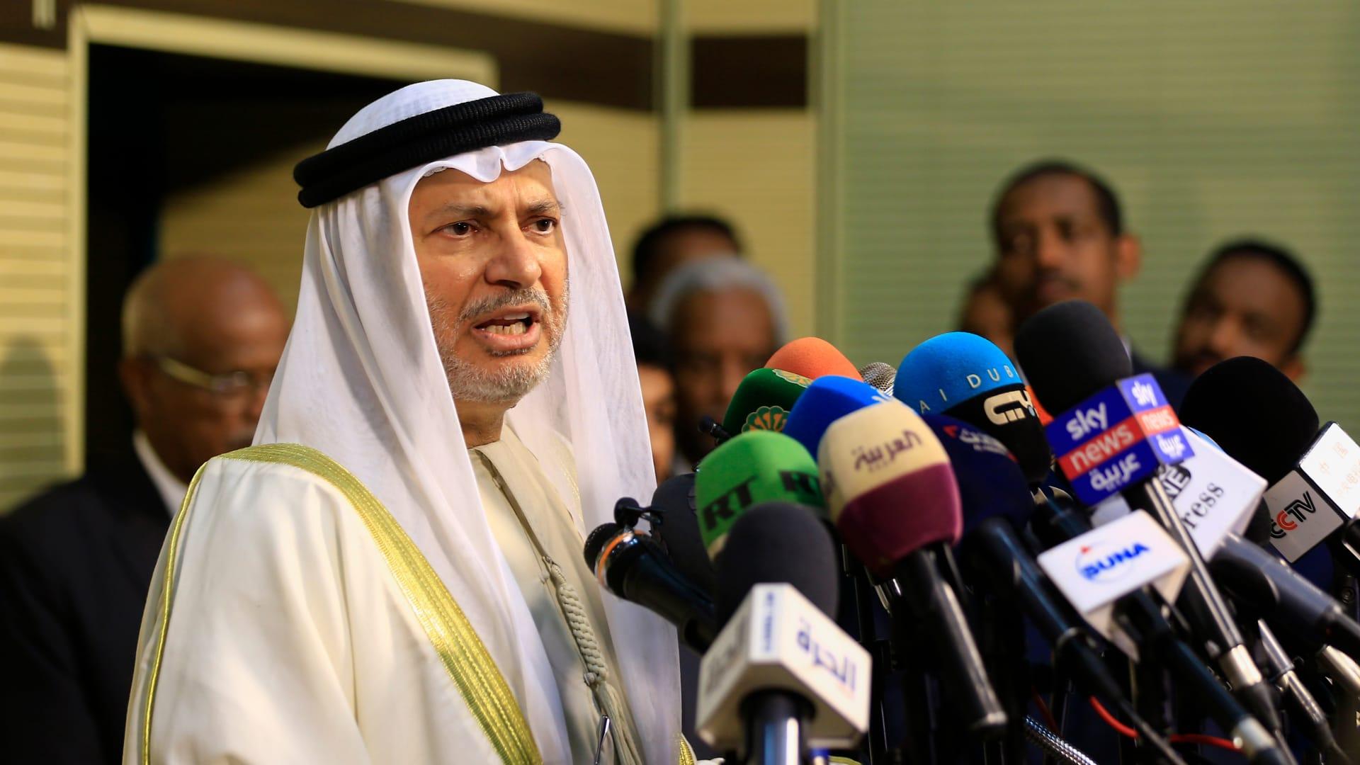 قرقاش لـCNN: إعلان العلا ليس حلاً تجميلياً.. والتركيز على رأب الصدع في الخليج