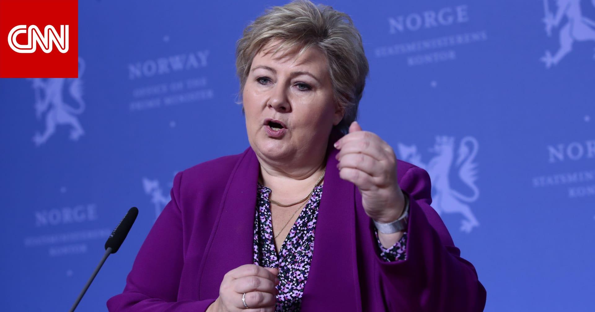 تغريم رئيسة وزراء النرويج.. وسولبرغ تعتذر عن انتهاك قواعد فيروس كورونا