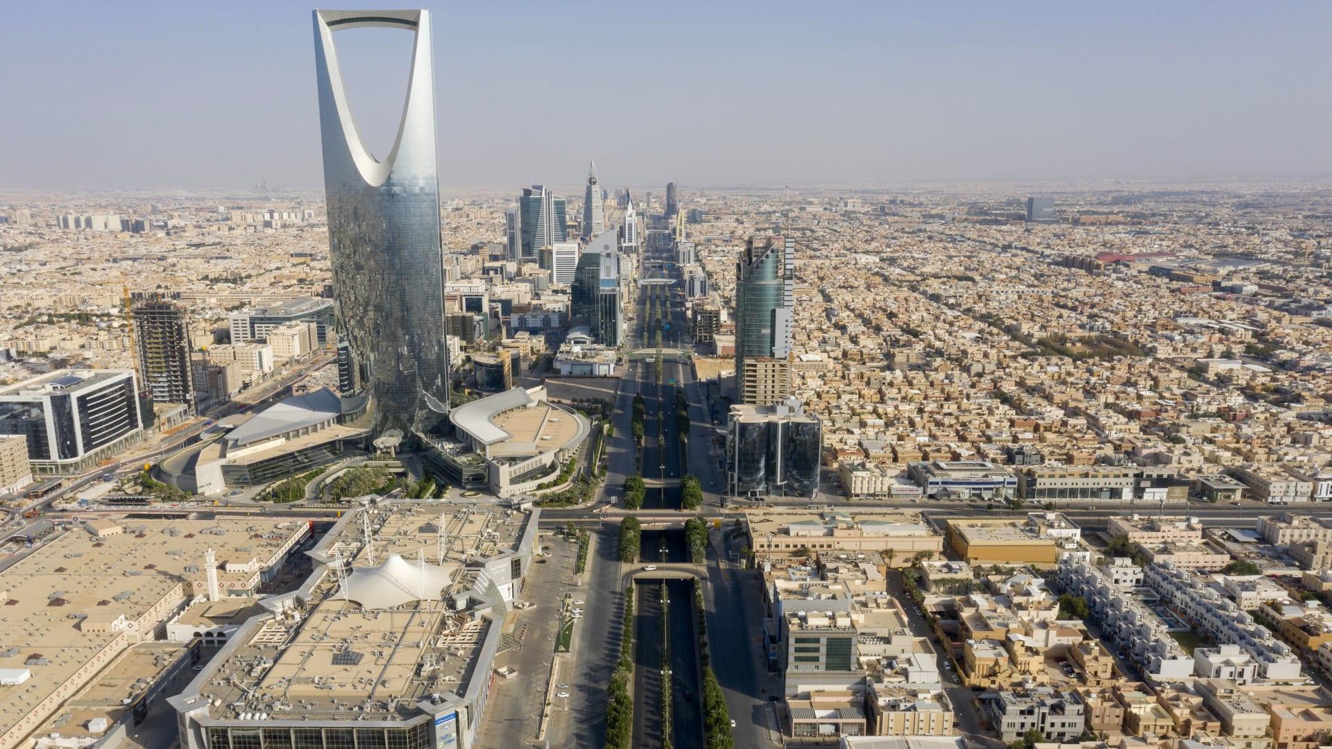منظر عام من العاصمة السعودية، الرياض