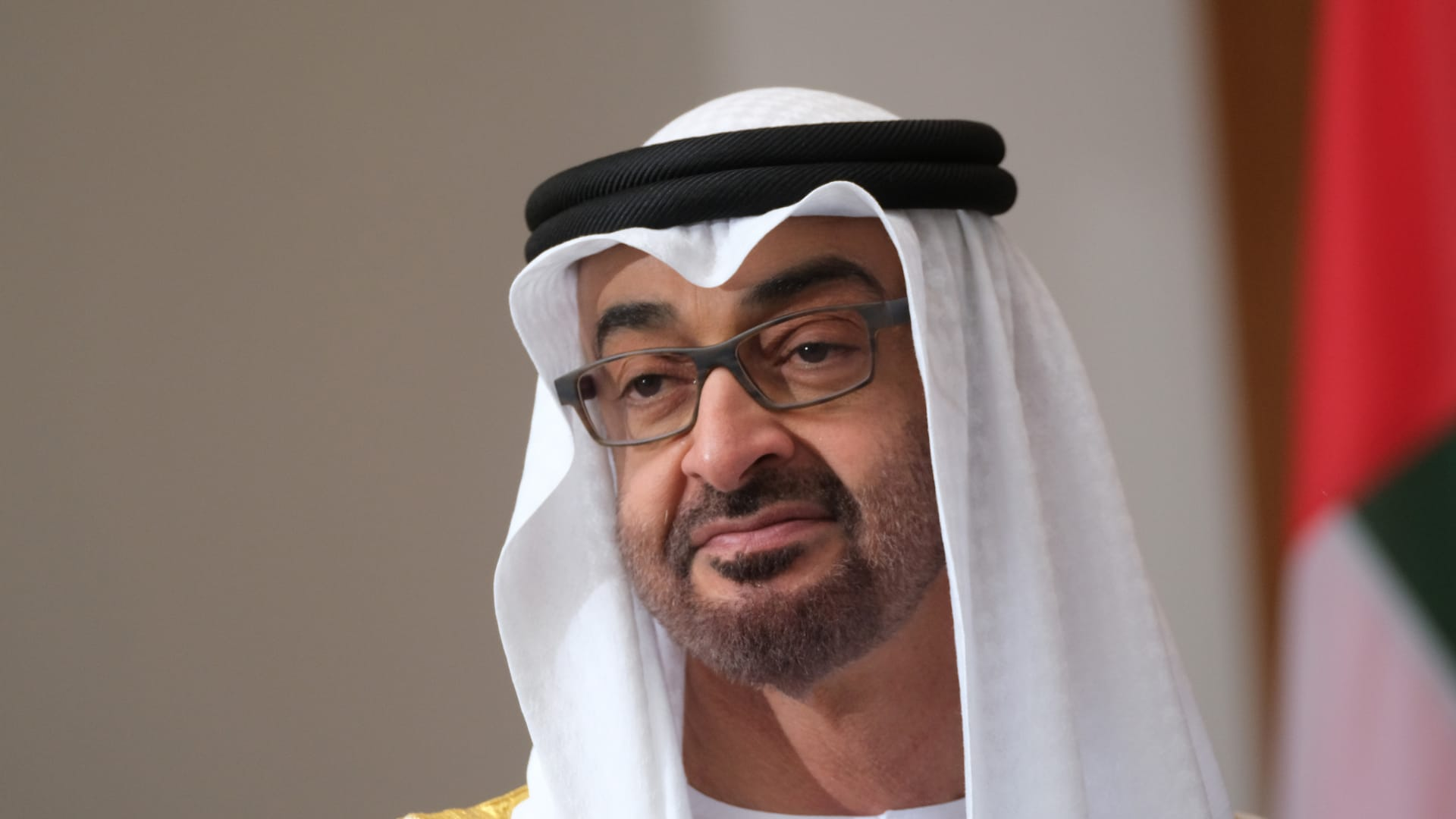 الشيخ محمد بن زايد ولي عهد أبوظبي نائب القائد الأعلى للقوات المسلحة الإماراتية