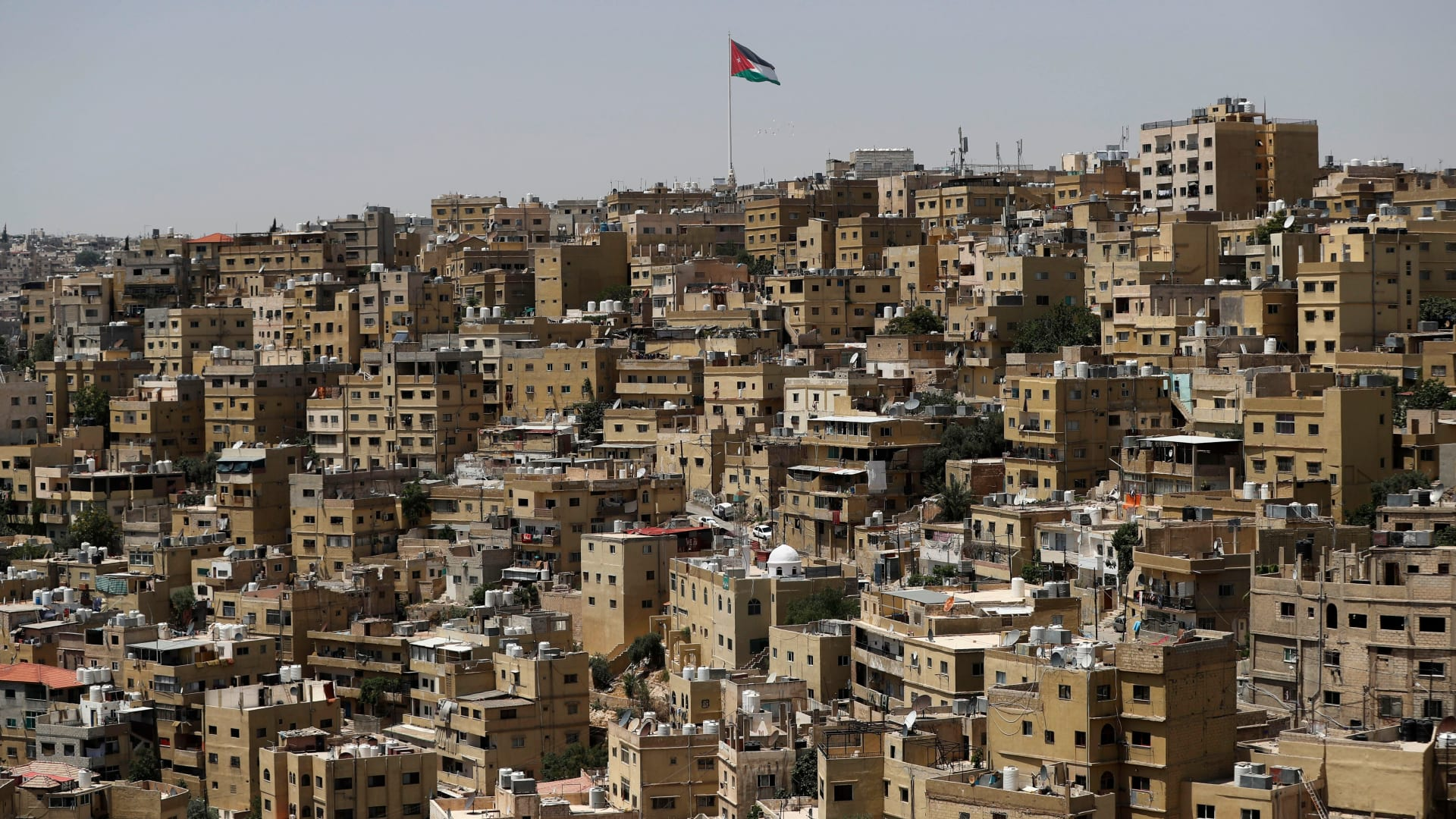 صورة أرشيفية عامة من العاصمة الأردنية عمان