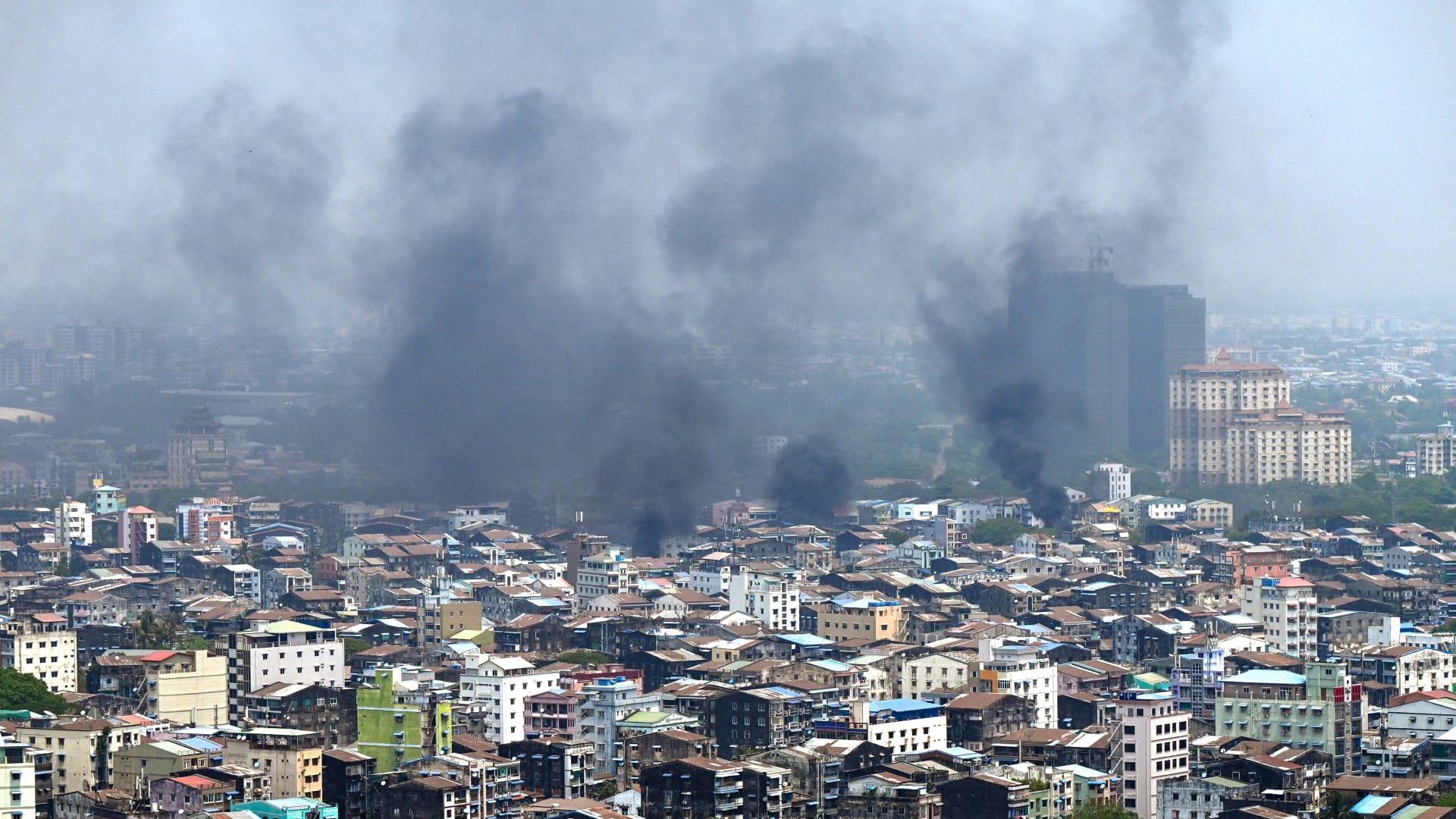 مقتل 91 شخصًا في ميانمار السبت في أحد أكثر الأيام دموية منذ بدء الاحتجاجات
