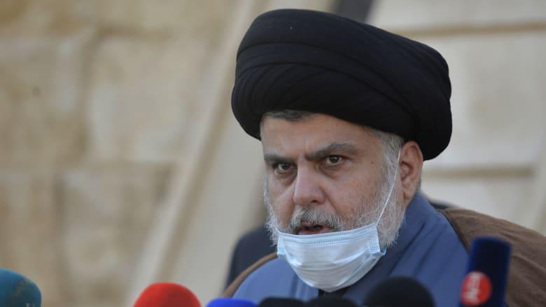 زعيم التيار الصدري الشيعي بالعراق، مقتدى الصدر