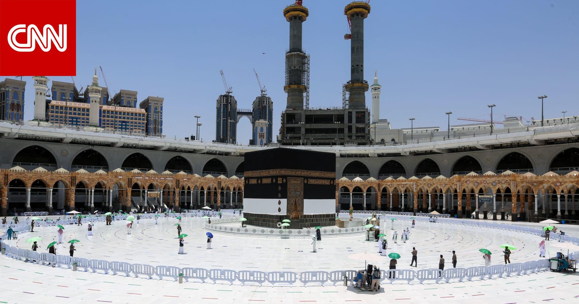 بعد وصول أولى طلائعهم.. الحجاج يؤدون طواف القدوم في مكة