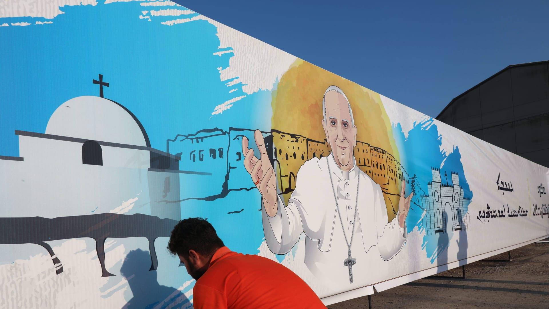 بابا الفاتيكان قبيل زيارته العراق غدًا: رحلة حج كنت أرغب فيها منذ فترة طويلة