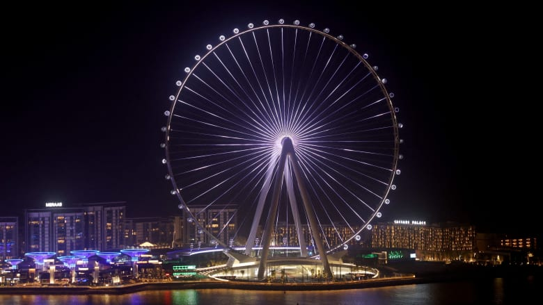 """معلم جديد يتخطى حدود الهندسة.. """"عين دبي"""" أكبر عجلة فيريس في العالم"""
