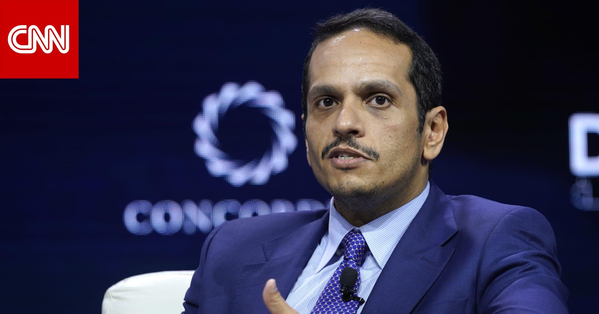 وزير خارجية قطر: أمر القبض على وزير المالية مرتبط بوظيفته العامة
