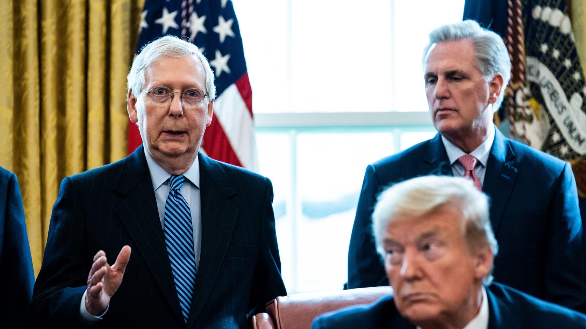مصادر CNN: لا مساءلة مبكرة لترامب بمجلس الشيوخ.. وجمهوريون يخشون التصويت لعزله