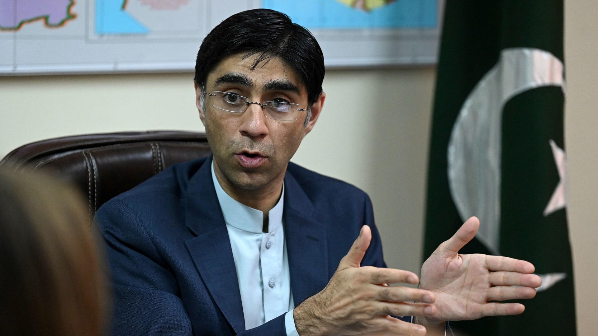 مستشار الأمن القومي الباكستاني مؤيد يوسف
