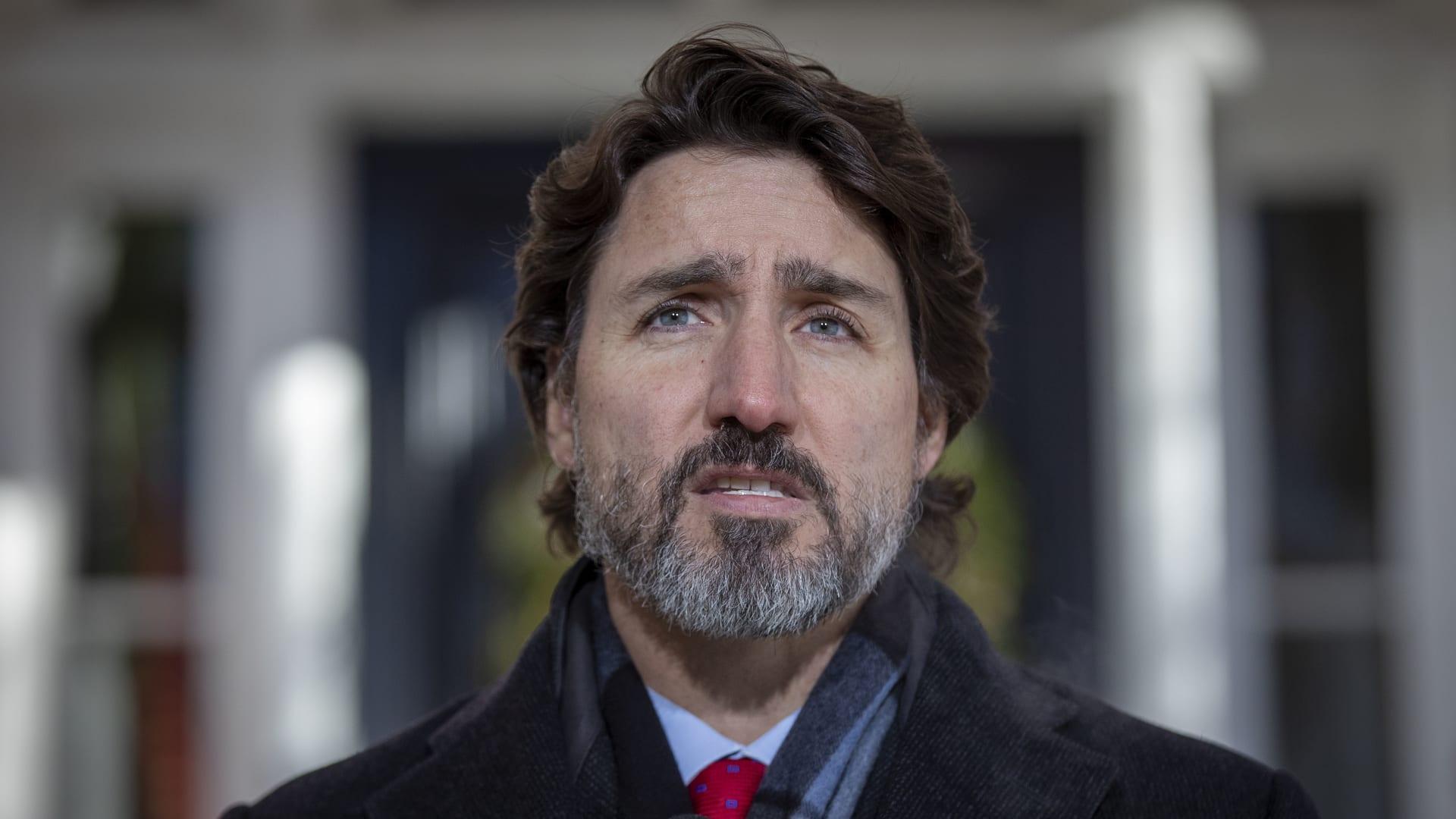 رئيس الوزراء الكندي يشعر بخيبة أمل من أمر تنفيذي لبايدن بشأن خط أنابيب نفط