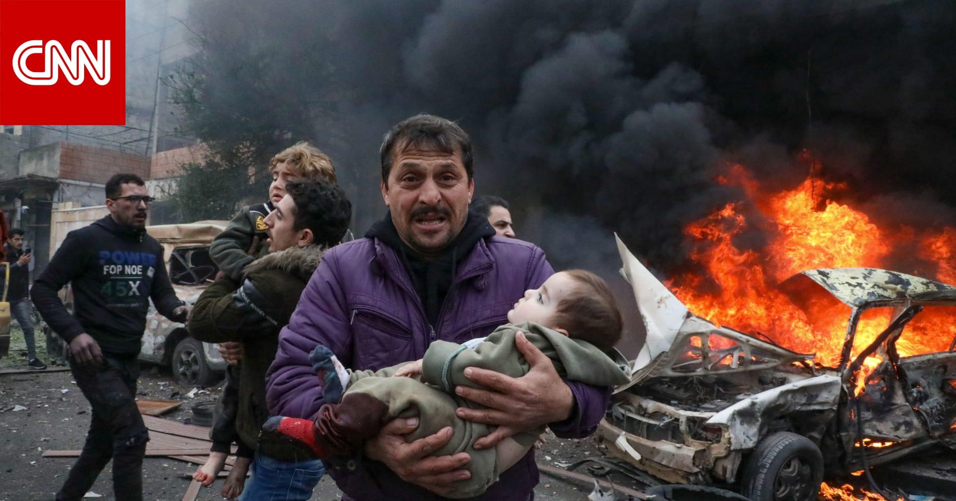 بعد يوم من انفجار عفرين.. مقتل 10 وإصابة 24 في تفجيرين شمال غرب سوريا