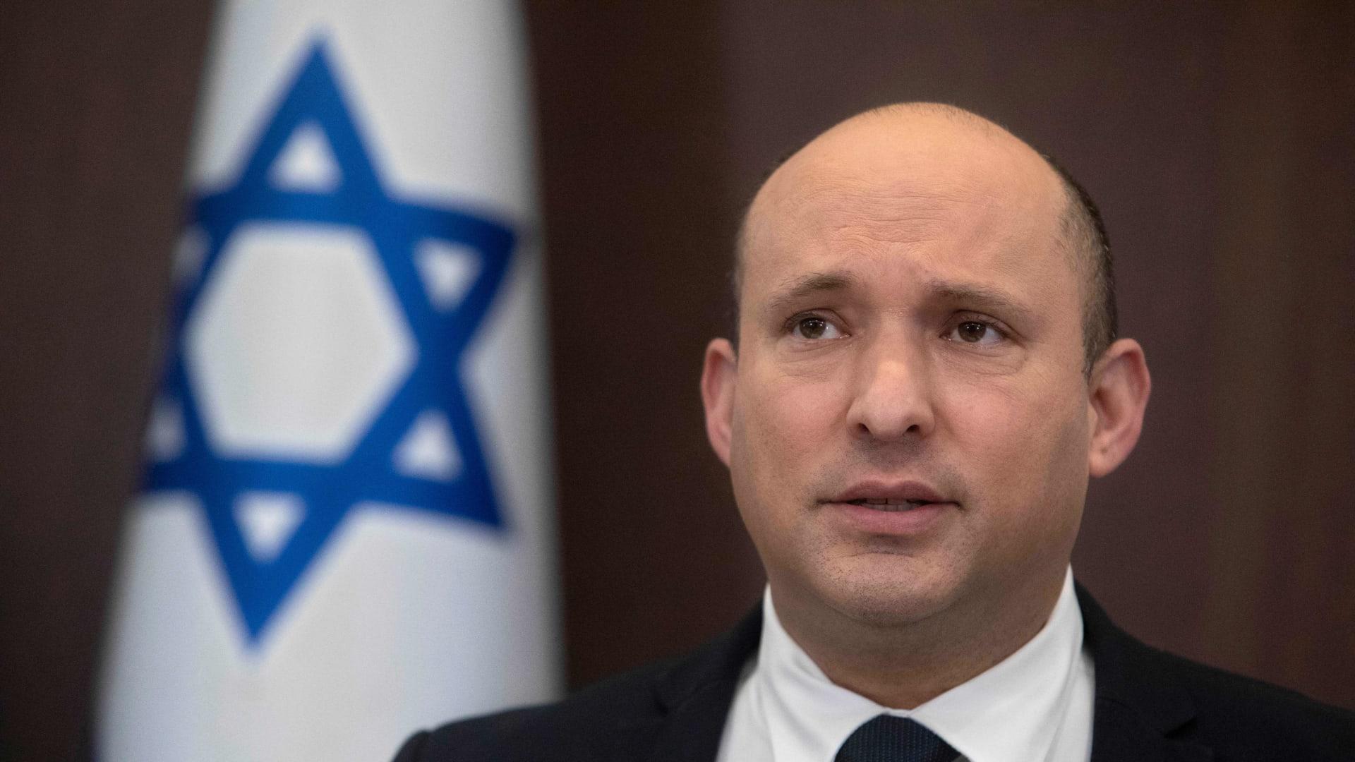 رئيس الوزراء الإسرائيلي: آمل أن يتخلص اللبنانيون والعراقيون من قبضة الحرس الثوري