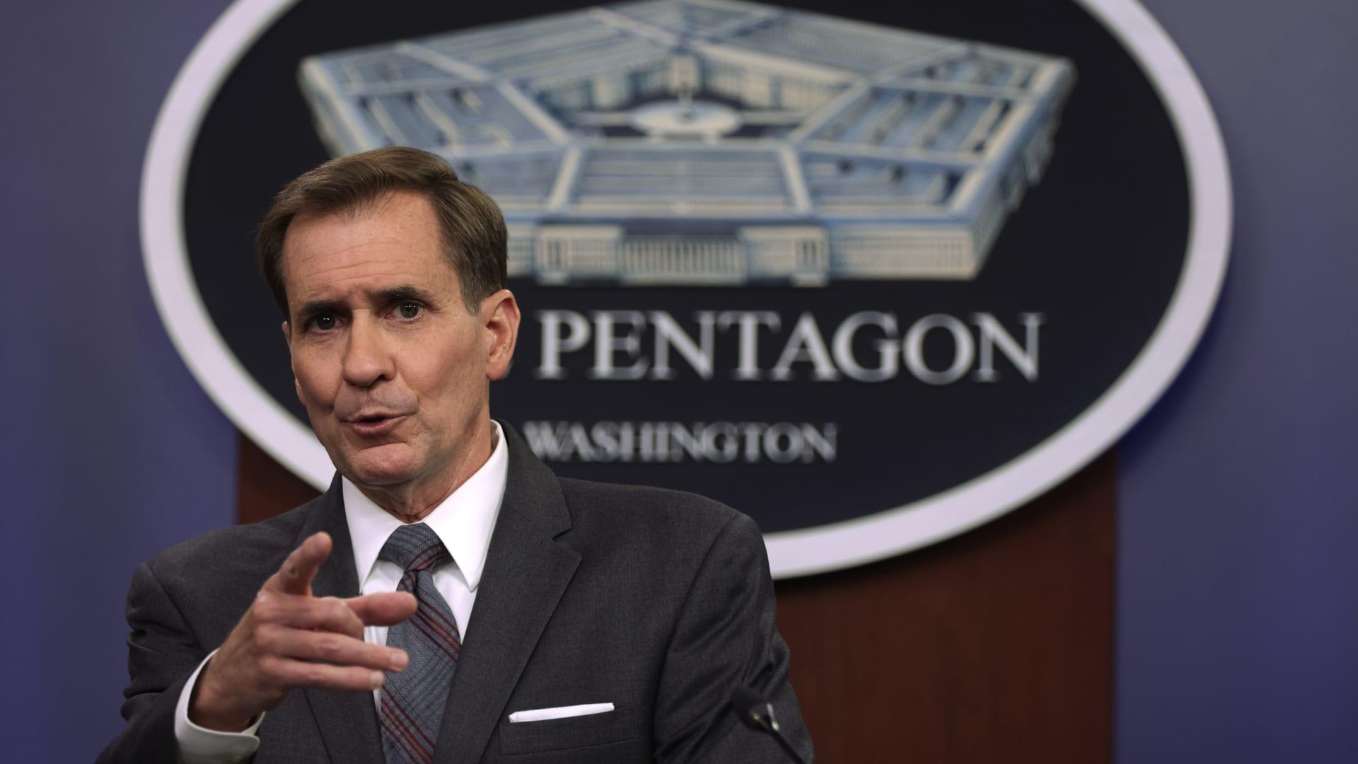 المتحدث باسم وزارة الدفاع الأمريكية (البنتاغون)، جون كيربي