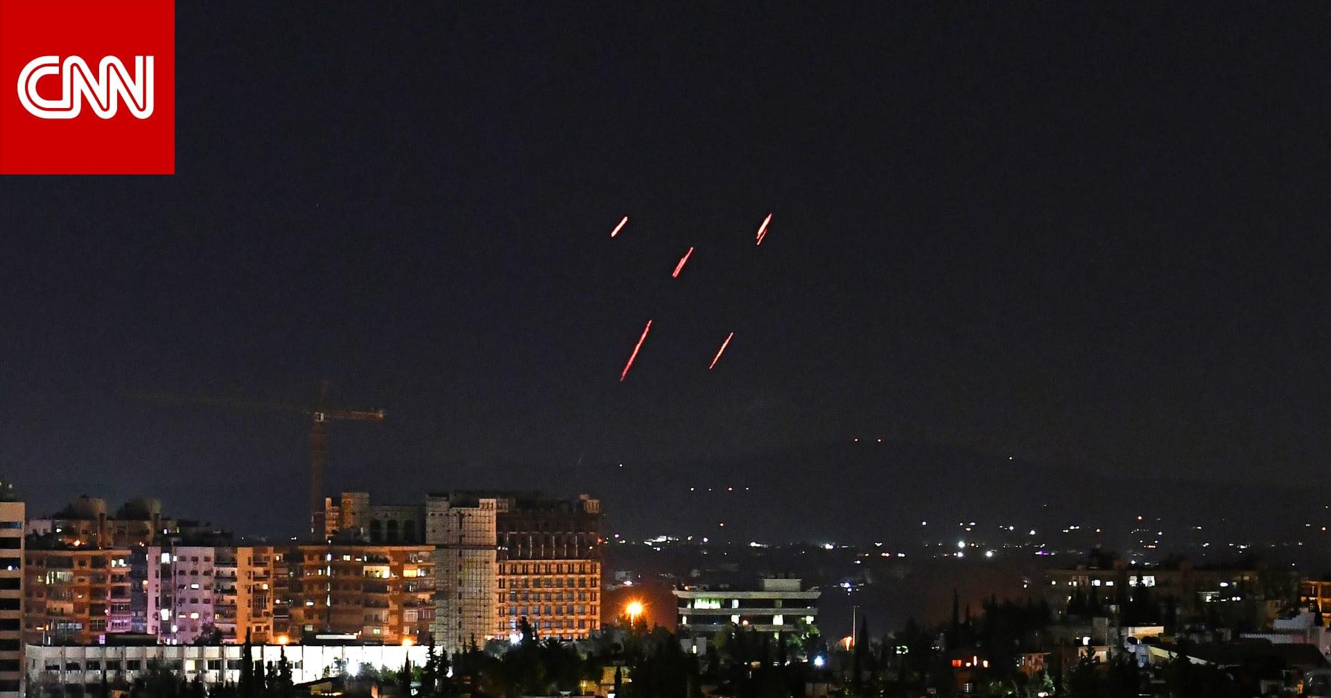 سوريا: إسرائيل شنت هجوماً صاروخياً.. والمرصد: استهدف موقع مليشيات إيرانية