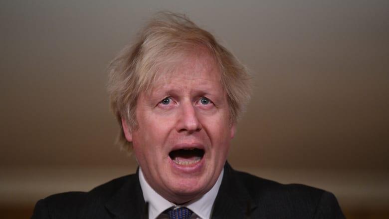 """جونسون: هناك أدلة على أن سلالة كورونا الجديدة المكتشفة في بريطانيا """"أكثر فتكا"""""""