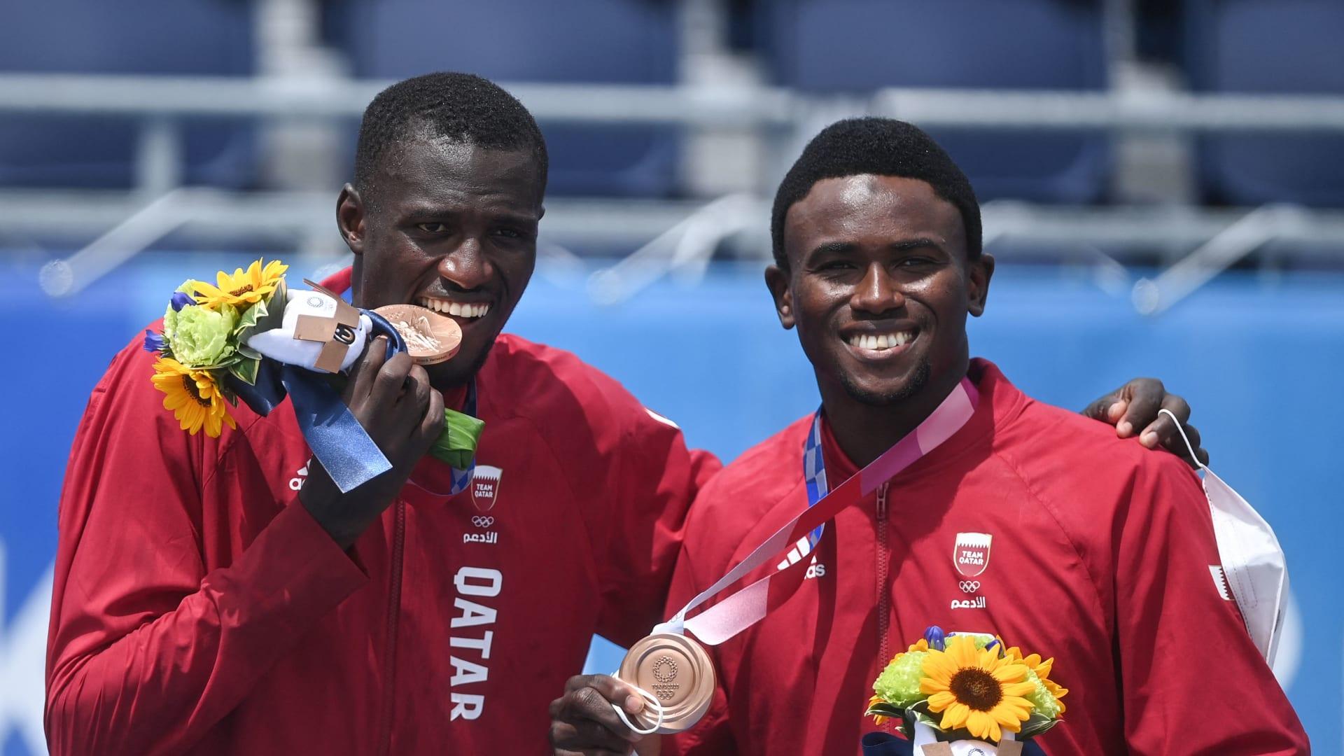 قطر تحقق أول مديالية عربية بالألعاب الجماعية في أولمبياد طوكيو