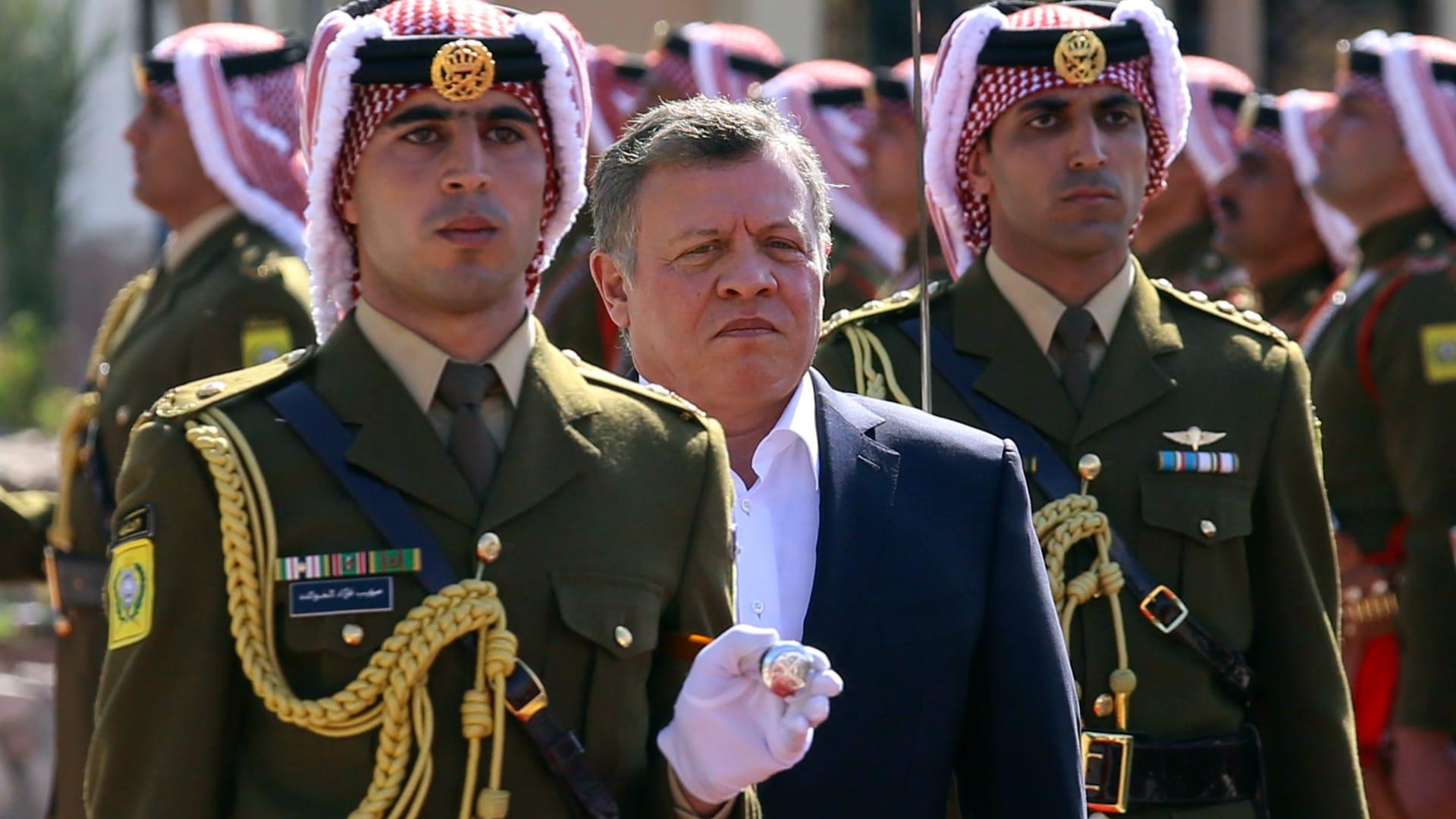 صورة أرشيفية للعاهل الأردني الملك عبدالله الثاني