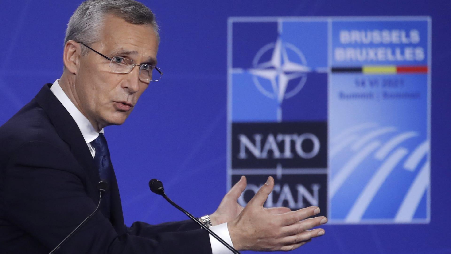 الأمين العام لحلف شمال الأطلنطي ينس ستولتنبرغ