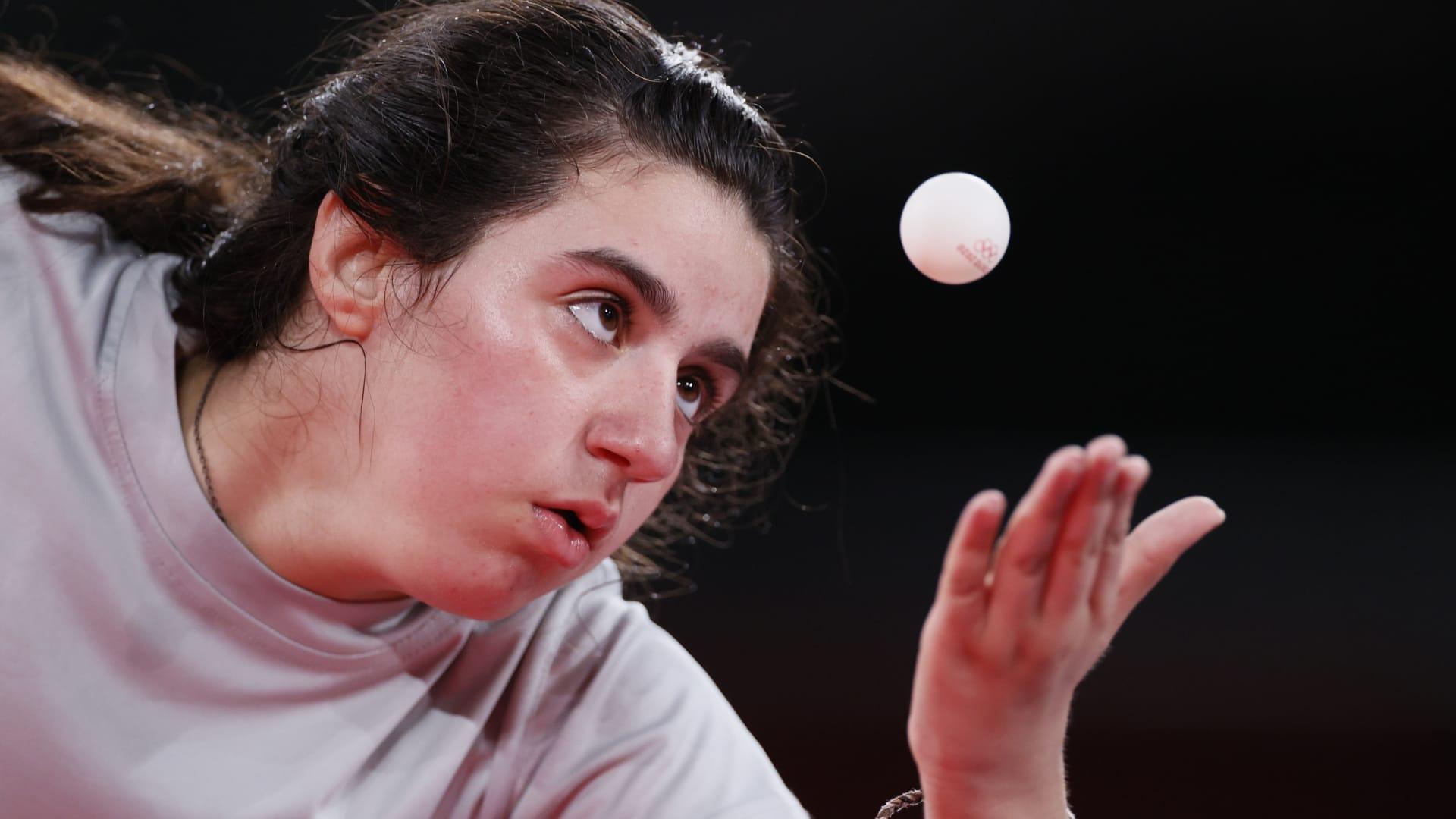 خسرت المنافسة وربحت القلوب.. السورية هند ظاظا تودع الأولمبياد وتحقق رقما تاريخيا