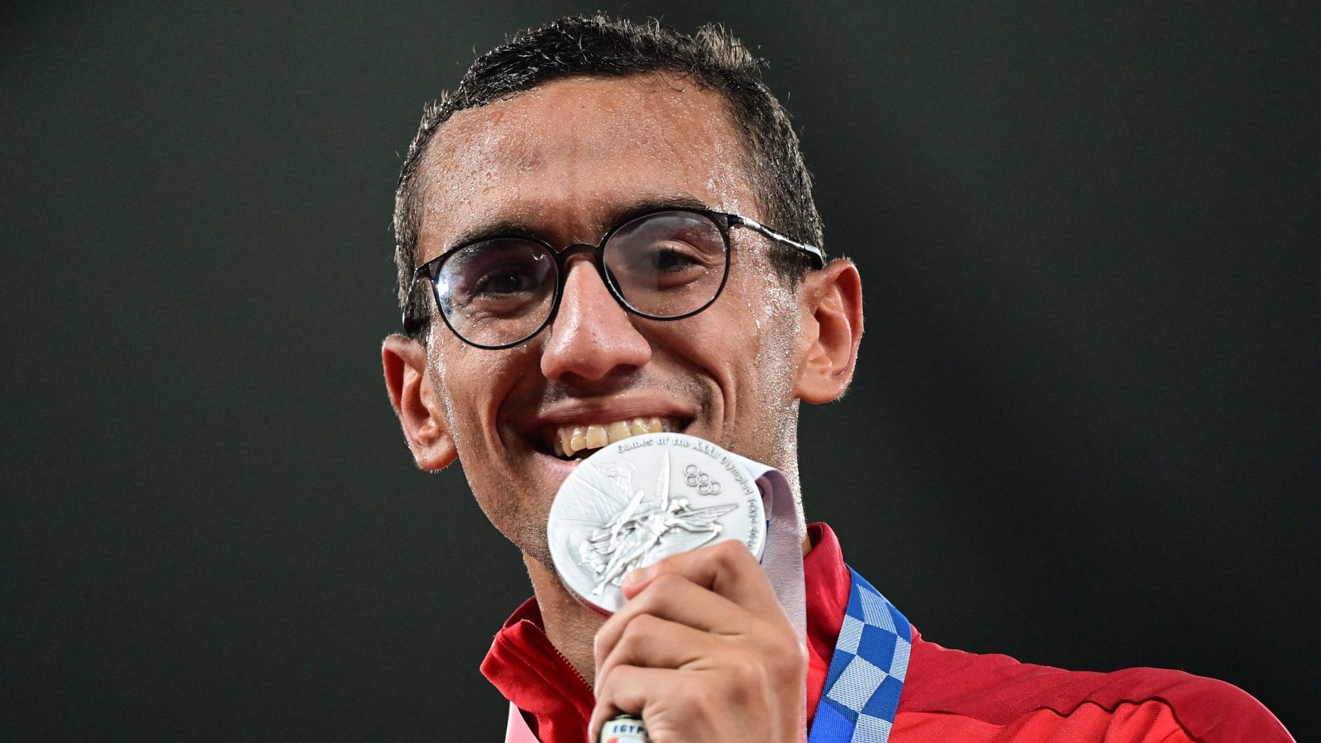 أحمد الجندي أول مصري وعربي يحقق فضية الخماسي الحديث.. وميدالية للبحرين