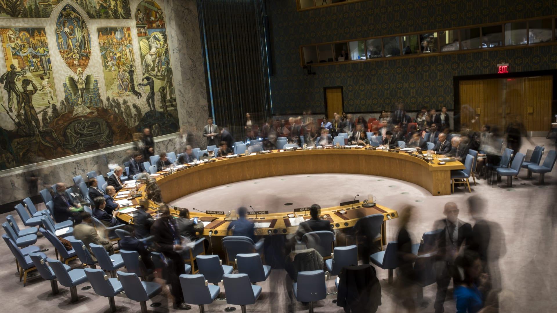 اجتماع لمجلس الأمن الدولي بشأن سوريا - صورة أرشيفية