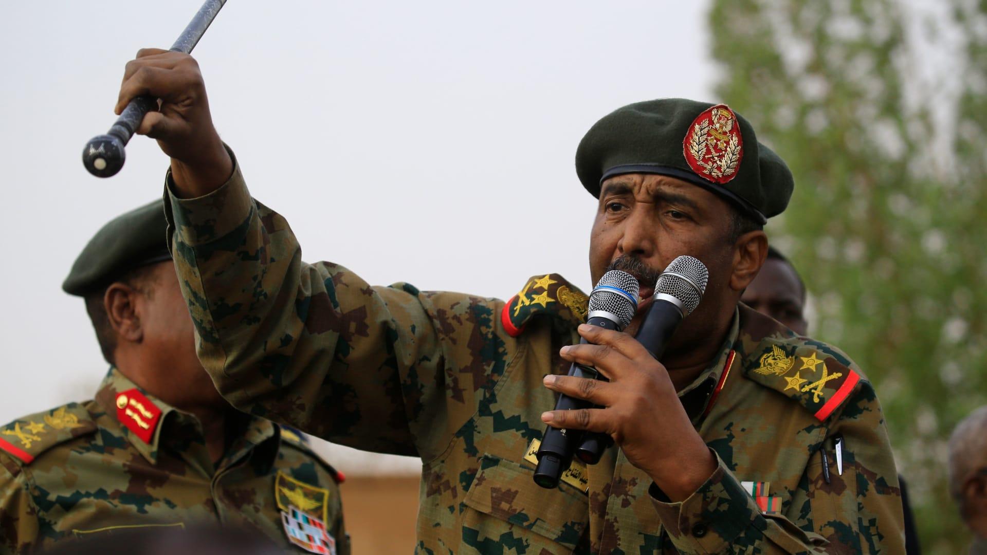 """السودان يعلن صد """"محاولة توغل"""" إثيوبية.. والبرهان: الجيش لن ينقلب على الثورة"""
