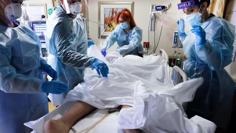 مشهد من الجحيم.. هذا ما يبدو عليه فيروس كورونا في كاليفورنيا