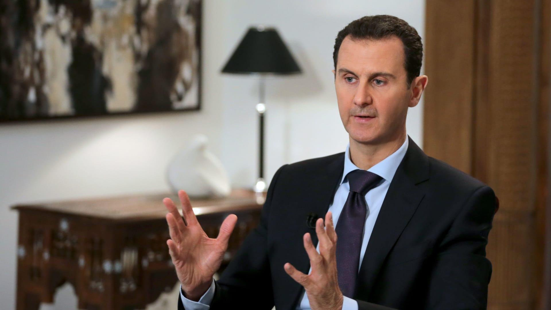 سوريا تزود بيروت بـ25 طنا من الأوكسجين.. ووزير الصحة اللبناني يشكر الأسد