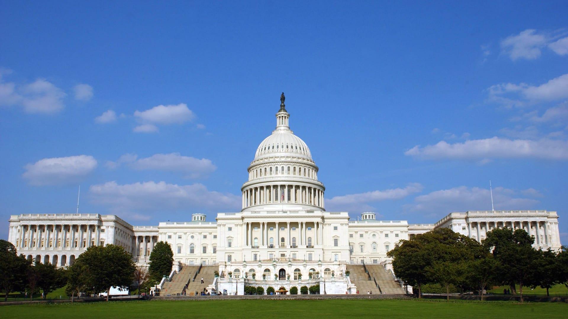 صورة ارشيفية لمبنى الكونغرس الأمريكي