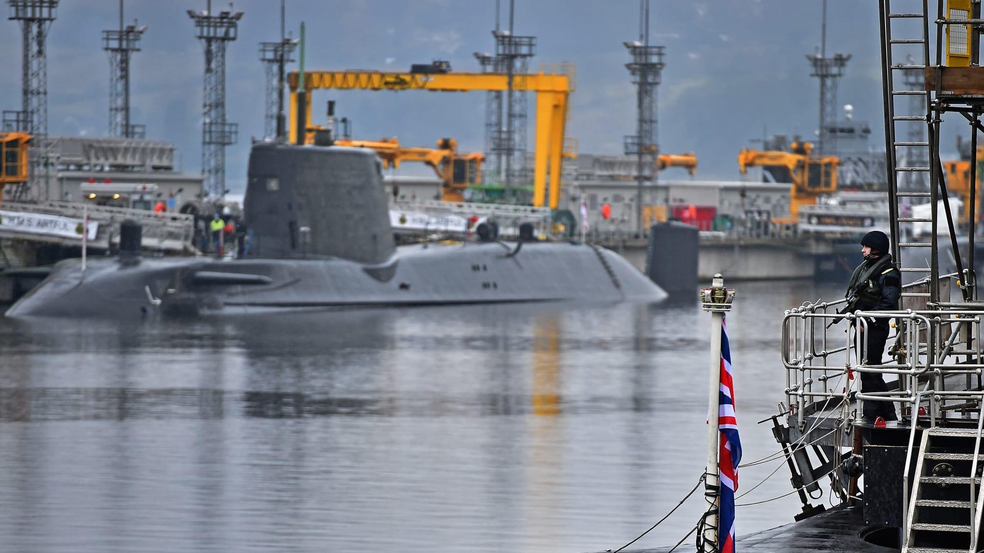 غواصة نووية من أسطول المملكة المتحدة