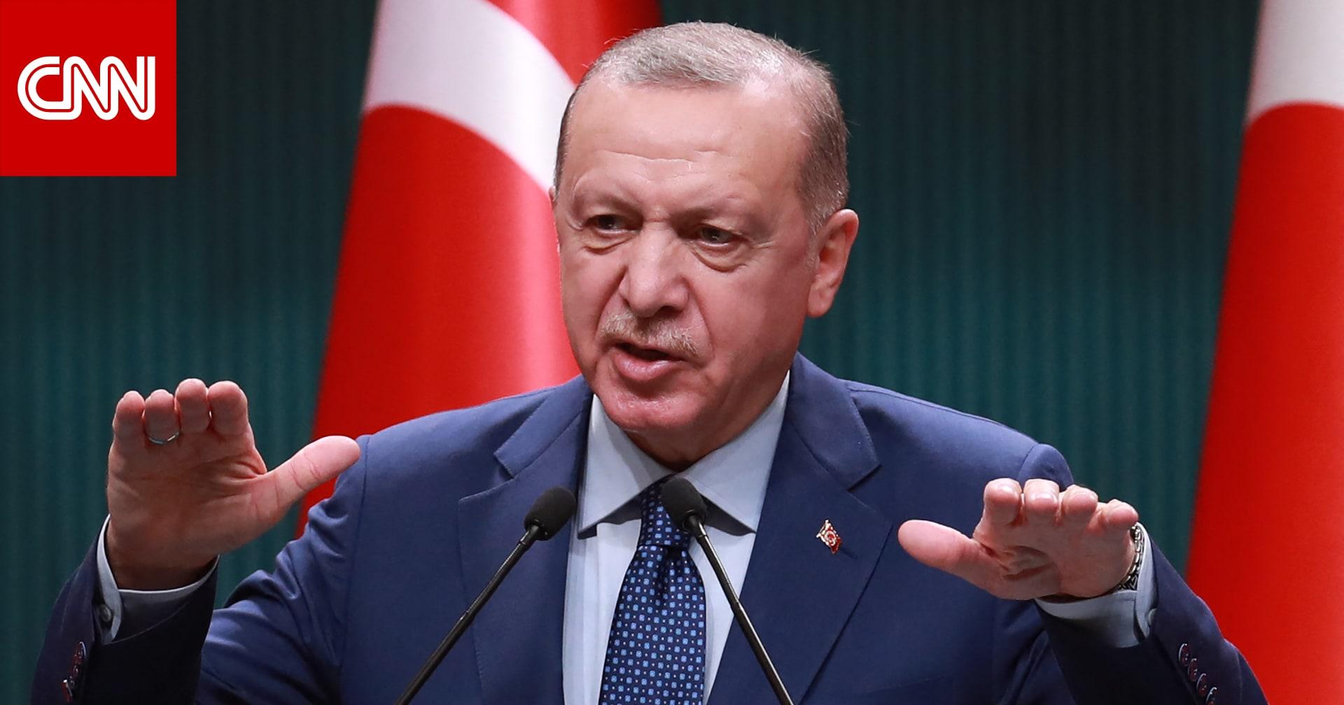 أردوغان يعلق على المشادة الكلامية بين وزيري خارجية تركيا واليونان