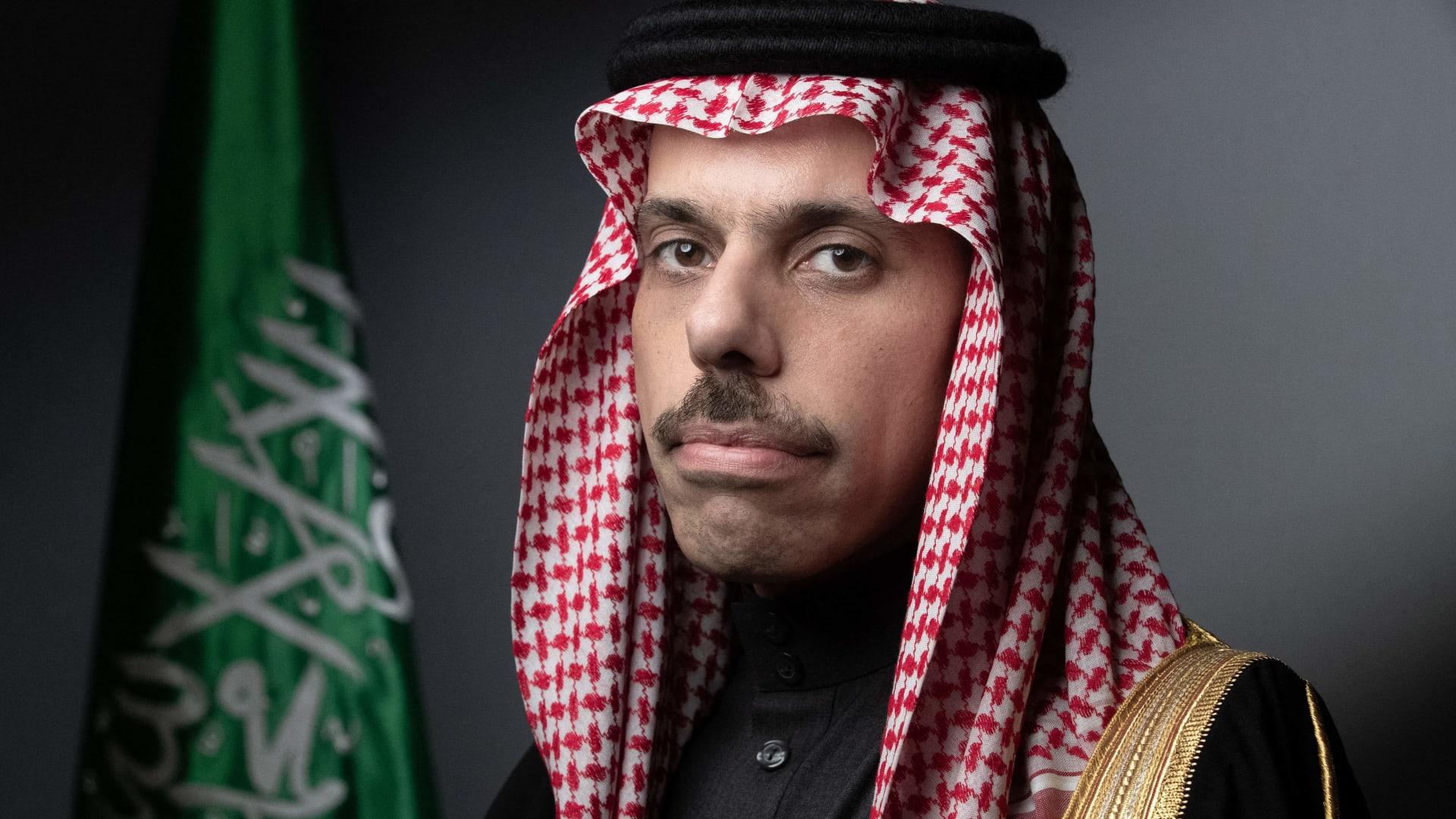 الأمير فيصل بن فرحان وزير الخارجية السعودي