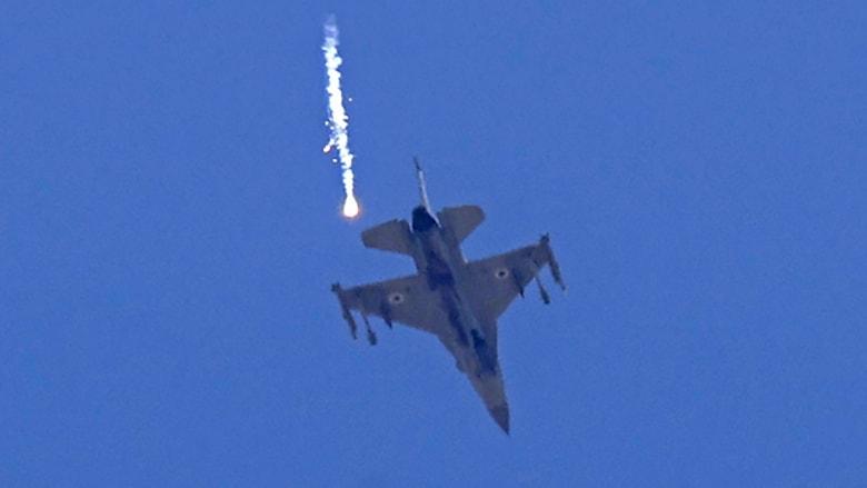 مقاتلة إسرائيلية من طراز F-16
