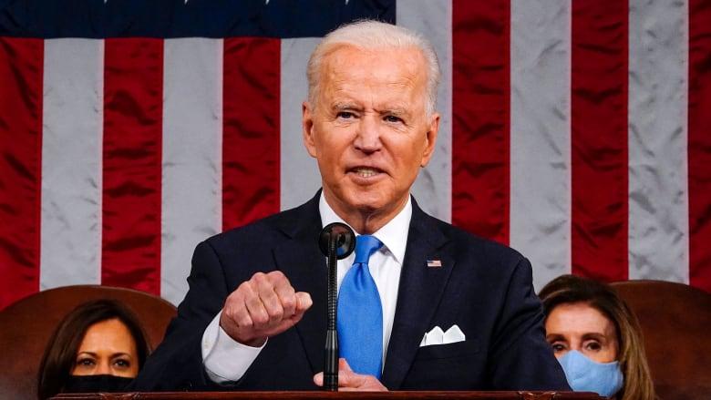 بايدن في خطابه الأول أمام الكونغرس: أمريكا مستعدة مجدداً
