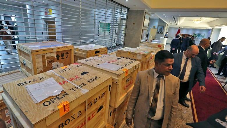 إعادة أكثر من 17 ألف قطعة أثرية منهوبة إلى العراق من أمريكا ودول أخرى