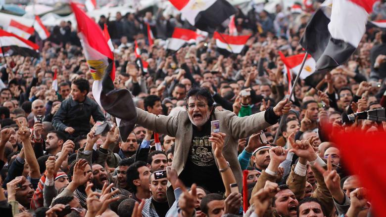 """""""الربيع العربي"""" بعد 10 سنوات.. ماذا حدث في تونس وليبيا ومصر وسوريا واليمن والبحرين؟"""