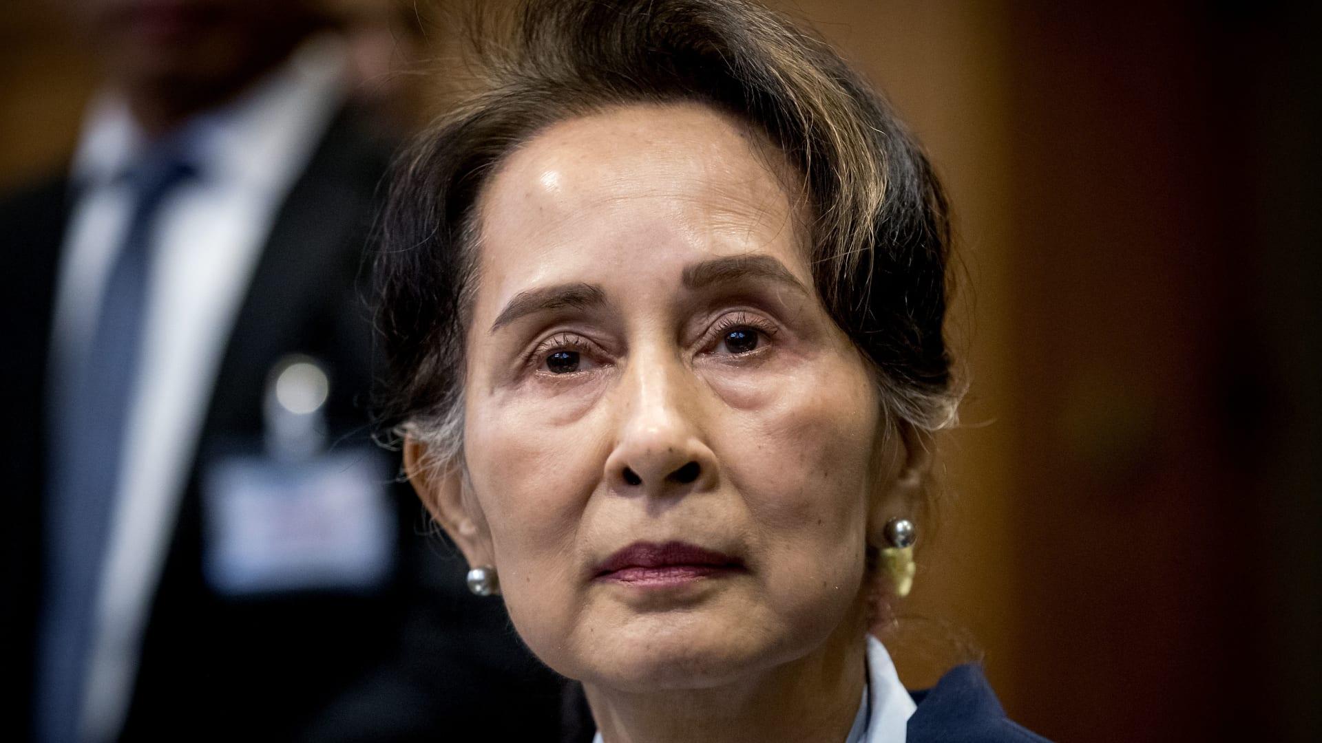 الزعيمة المدنية أونج سان سوكي