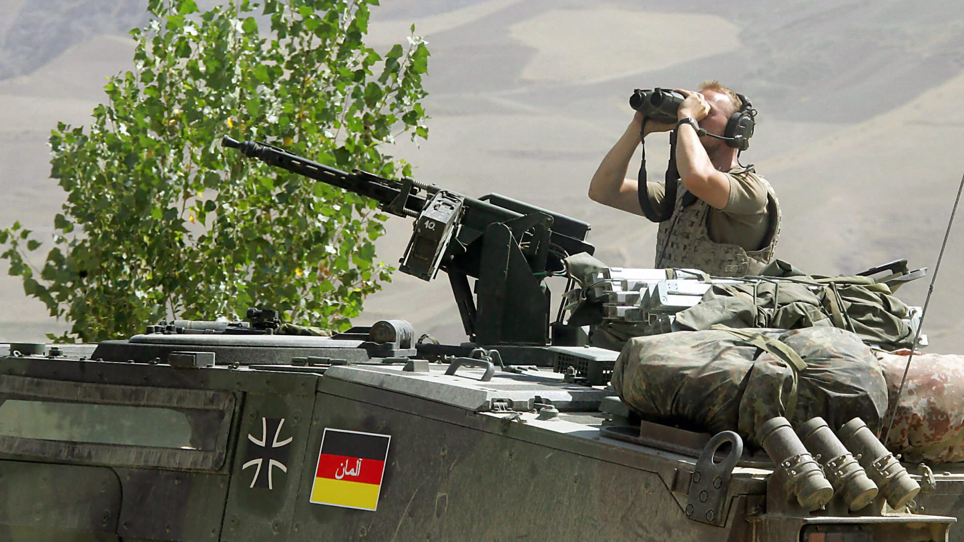 صورة أرشيفية لعنصر بالجيش الألماني في أفغانستان العام 2006