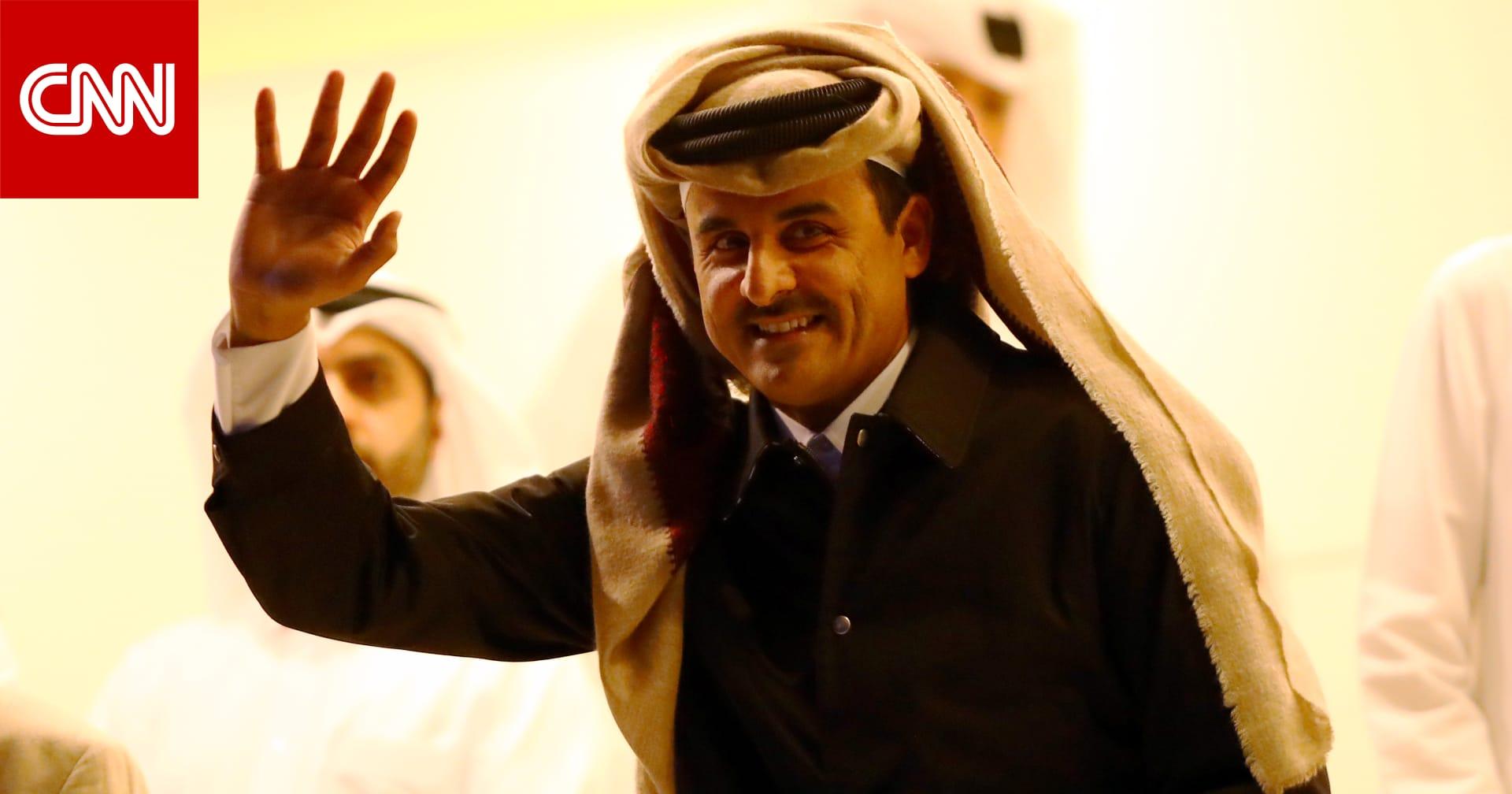"""الأول منذ """"بيان العُلا"""".. اتصال هاتفي بين أمير قطر والسيسي"""