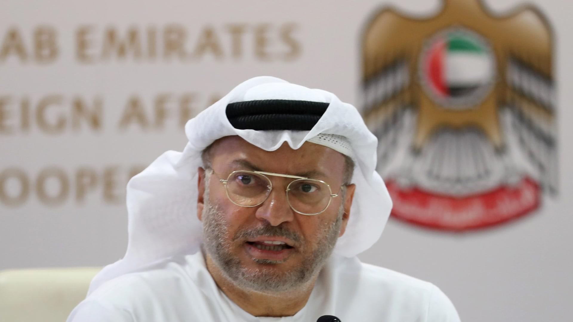 وزير الدولة الإماراتي السابق للشؤون الخارجية، أنور قرقاش