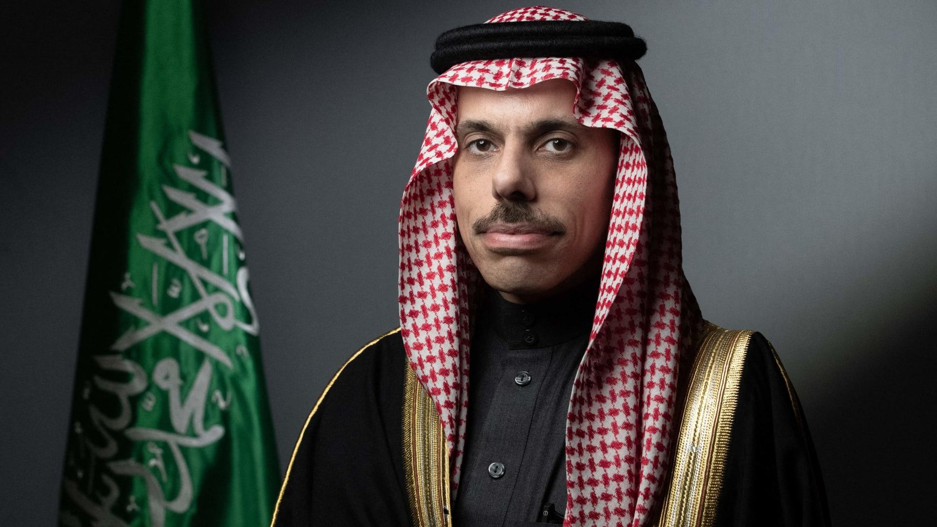 وزير الخارجية السعودي، الأمير فيصل بن فرحان